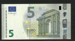 5 EURO SPAIN/SPAGNA VA V004 A1 UNC/FDS DRAGHI - 5 Euro
