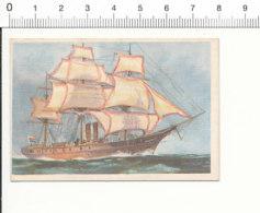 Chromo Cigarettes Virginia / De Ruyter Voilier à Vapeur Schroefstoomschip Ship Navire Bateau / IM 01-boat-1 - Cigarrillos