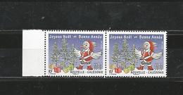 New Caledonia 2016 - Joyeux Noël Meilleurs Vœux Pair Mnh - Nueva Caledonia