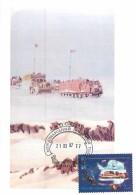 RUSSIA 2008 1074 ANTARCTICA. Tractor-sled Train. INTERNATIONAL POLAR YEAR - International Polar Year