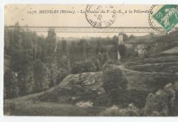 Rhone - 69 - Brindas Le Viaduc Du F-o-l A La Pillardière 1909 - Other Municipalities