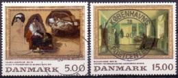 DENEMARKEN 1994 Schilderkunst GB-USED - Gebraucht