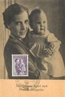 KRONPRINCESSE INGRID MED - PRINCESSE MARGRETHE - 1951. - Danemark