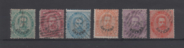 Levante 1881-83 Umberto I Serie Cpl US ++++ 2 L. Firmato N.Q. - 11. Auslandsämter