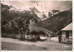 L34A_106 - La Grave - La Meije Vue De La Terrasse De L'Hôtel Des Alpes - Autres Communes