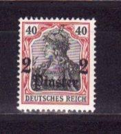 Allemagne   Bureau Levant    N° 34      Neuf Avec Charnière - Allemagne