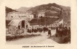 ENVIRONS DE MIRABELLE-AUX-BARONNIES PIEGON UN DETACHEMENT DU 2 E ZOUAVES - France
