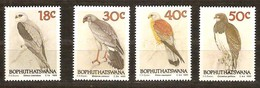 South Africa Du Sud Bophuthatswana 1989 Yvertn° 223-226 *** MNH Cote 8,00 Euro Faune Oiseaux Vogels Birds - Aigles & Rapaces Diurnes
