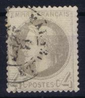 France: Yv Nr 27B (II)  Obl Used 1866 - 1863-1870 Napoleon III With Laurels