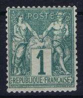 France: Yv Nr  61 MNH/**/postfrisch/neuf Sans Charniere - 1876-1878 Sage (Type I)