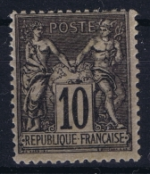 France: Yv Nr 89 MNH/**/postfrisch/neuf Sans Charniere - 1876-1898 Sage (Type II)