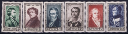 France: Yv Nr 891 - 896 MNH/**/postfrisch/neuf Sans Charniere 1951 - Ongebruikt