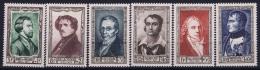 France: Yv Nr 891 - 896 MNH/**/postfrisch/neuf Sans Charniere 1951 - France