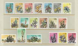 """SUD-OUEST AFRICAIN - 1973-74 -  Série Courante """"Cactées"""" N° 318 à 333 + 341 à 343 - Complet 19 Valeurs - XX - MNH - TTB - Autres - Afrique"""