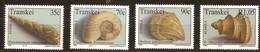 South Africa Du Sud Transkei 1992 Yvertn° 295-298 *** MNH Cote 7,00 Euro Coquillages - Transkei