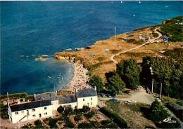 -ref-R925 - Morbihan - Groix - Ile De Groix - Vue Aerienne - Port Melite - Carte Bon Etat - - Groix