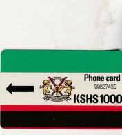 KEN 5 LOGO KPTC 1000 KSHS Autelca Luxe 1987 - Kenya