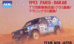 Télécarte Japon RALLYE RALLY RALLEY (1702) NISSAN * AUTO * VOITURE * CAR  Phonecard JAPAN * RACING * TK * - Cars