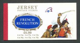 JERSEY - 1989 - CARNET DE PRESTIGE C479 NEUF** LUXE / MNH - Bicentenaire De La Révolution Française - Jersey