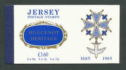 JERSEY - 1985 - CARNET DE PRESTIGE C354 NEUF** LUXE / MNH - Héritage Huguenot - Jersey