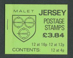JERSEY - 1988 - CARNET C364 NEUF** LUXE / MNH - Série Courante, Blasons Des Familles De Jersey - Jersey