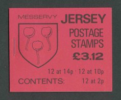 JERSEY - 1986 - CARNET C261a NEUF** LUXE / MNH - Série Courante, Blasons Des Familles De Jersey - Jersey