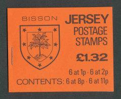 JERSEY - 1983 - CARNET C258 NEUF** LUXE / MNH - Série Courante, Blasons Des Familles De Jersey - Jersey