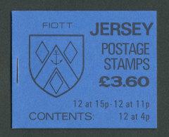 JERSEY - 1987 - CARNET C262a NEUF** LUXE / MNH - Série Courante, Blasons Des Familles De Jersey - Jersey