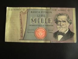 1980   1000 LIRE II TIPO VERDI  FDS FIOR DI STAMPA - [ 2] 1946-… : Repubblica