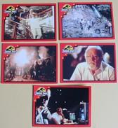 5 Images Film JURASSIC PARK 1992 Euroflash Figurine N° 25 26 30 54 71 - Publicité Cinématographique