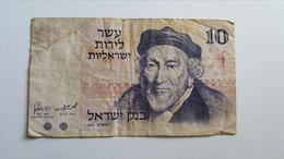 ISRAELE 10 SHEQUALIM - Israele