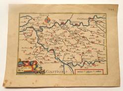 CARTE DE LA BRIE - NICOLAS TASSIN - 1635 - Carte Geographique
