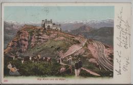 Rigi-Kulm Und Die Alpen - Animee Belebt - SZ Schwyz