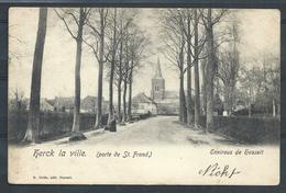 +++ CPA - HERCK DE STAD - HERCK LA VILLE - Porte De St Trond - Environs De Hasselt  // - Herk-de-Stad