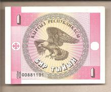 Kirghizistan - Banconota Circolata Da 1 Tyiyn - 1993 - Kirghizistan