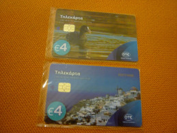 Greece Phonecard S0129 S0130 S129 S130 08/16 2.200 Boat & Duck (mint) - Greece