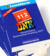 DNK 2017 Deutschland Netto Briefmarken Katalog Neu 10€ Leuchtturm Germany AD DR Saar Memel Danzig SBZ DDR Berlin AM BUND - Phonecards