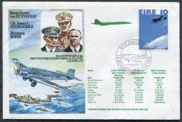 1978 Eire Royal Air Force Atlantic Flight Cover. Concorde Heathrow - JFK, New York USA - Airmail