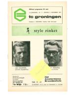 Programme Football 1975 1976 : FC Groningen V Amersfoort (Holland) - Books