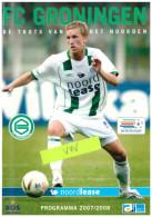 Programme Football 2007 2008 : FC Groningen V VVV Venlo (Holland) - Books