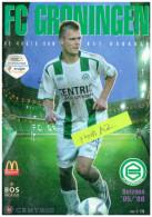 Programme Football 2005 2006 : FC Groningen V AZ Alkmaar (Holland) Play Off - Books