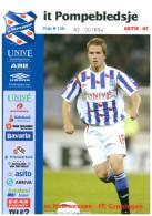 Programme Football 2006 2007 : Heerenveen V FC Groningen (Holland) - Books