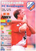 Programme Football 1996 1997 : FC Utrecht V FC Groningen (Holland) - Boeken