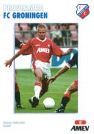 Programme Football 2000 2001 : FC Utrecht V FC Groningen (Holland) - Boeken