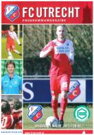 Programme Football 2010 2011 : FC Utrecht V FC Groningen (Holland) - Boeken