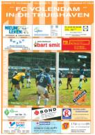 Programme Football 1997 1998 : FC Volendam V FC Groningen (Holland) - Boeken