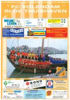 Programme Football 1999 2000 : FC Volendam V FC Groningen (Holland) - Boeken