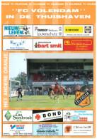 Programme Football 1995 1996 : FC Volendam V FC Groningen (Holland) - Boeken