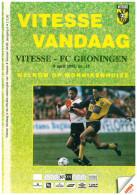 Programme Football 1994 1995 : Vitesse Arnhem V FC Groningen (Holland) - Boeken
