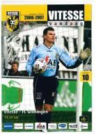 Programme Football 2006 2007 : Vitesse Arnhem V FC Groningen (Holland) - Boeken